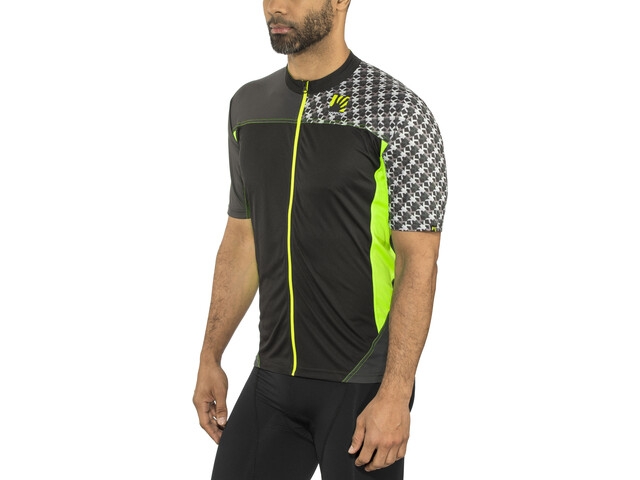 Karpos Teck Evo Jersey Men green fluo/black